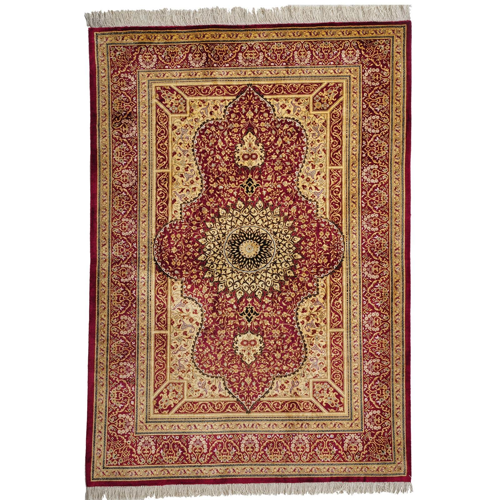 Ghom Silke matta storlek 150x100 cm