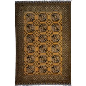 Afghan Guld matta storlek 297x198 cm