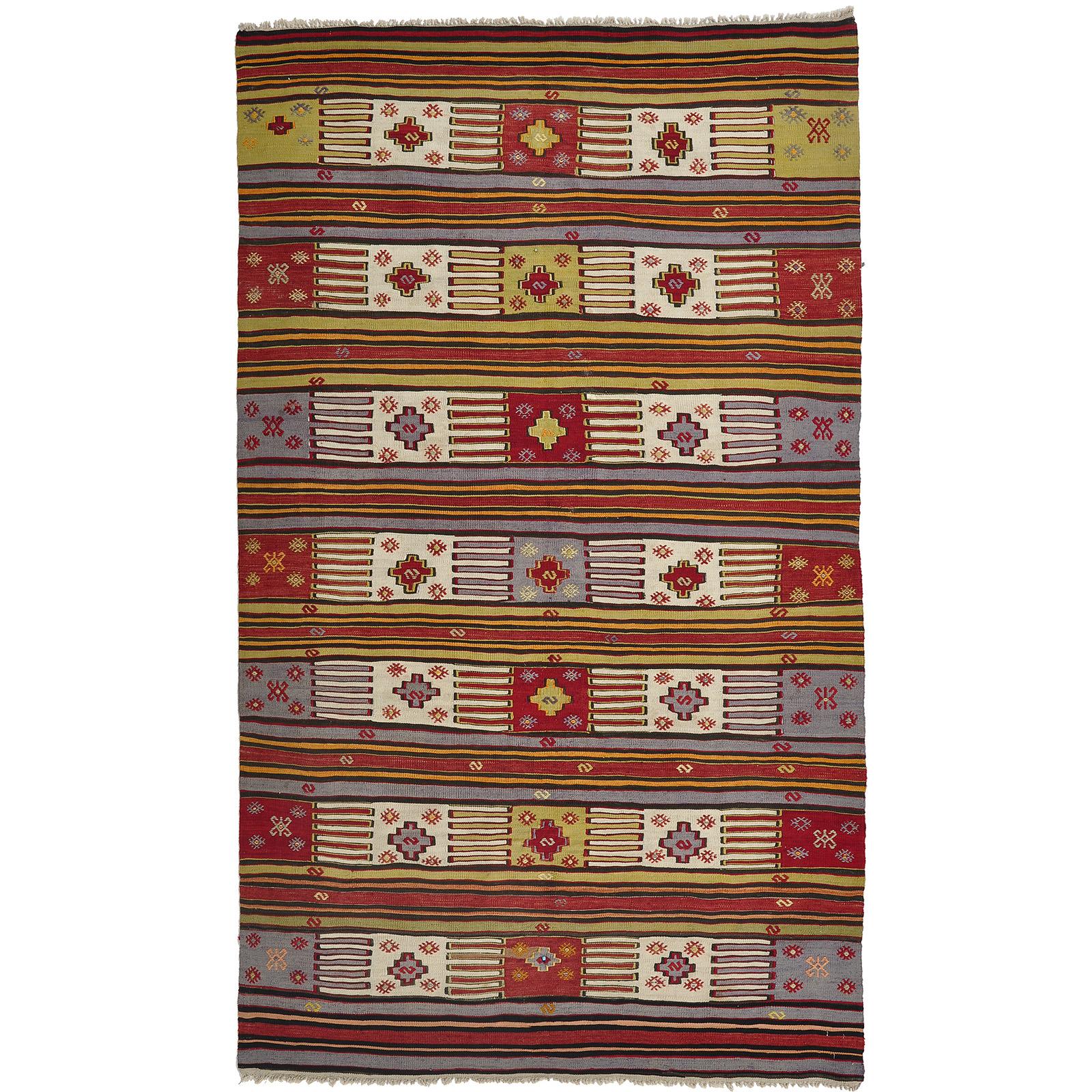 Kelim (old) matta storlek 254x150 cm