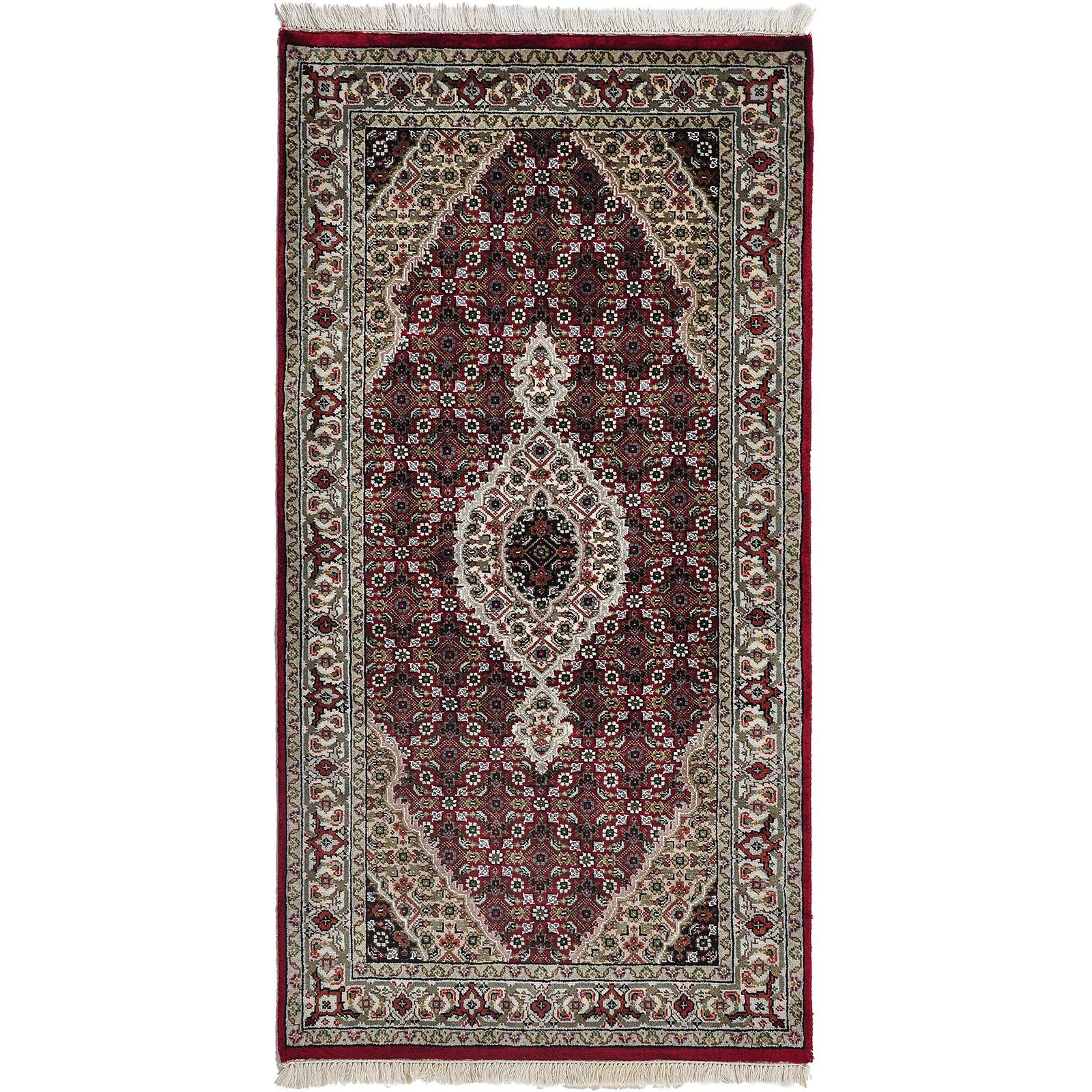 Indo Täbriz matta storlek 139x73 cm