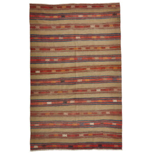 Kelim (old) matta storlek 257x165 cm
