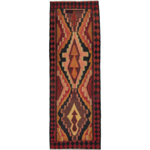 Kelim (old) matta storlek 390x135 cm