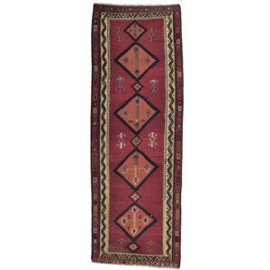 Kelim (old) matta storlek 430x150 cm