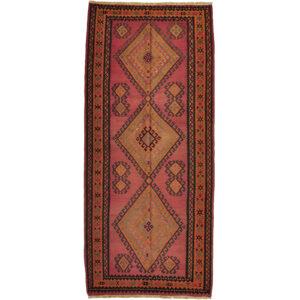 Kelim (old) matta storlek 342x150 cm