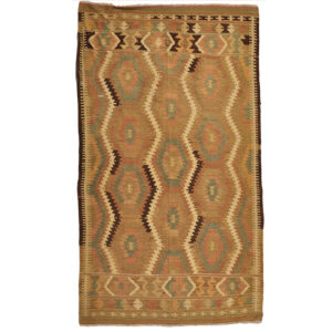 Kelim (old) matta storlek 218x130 cm