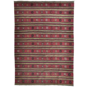 Kelim (old) matta storlek 261x185 cm