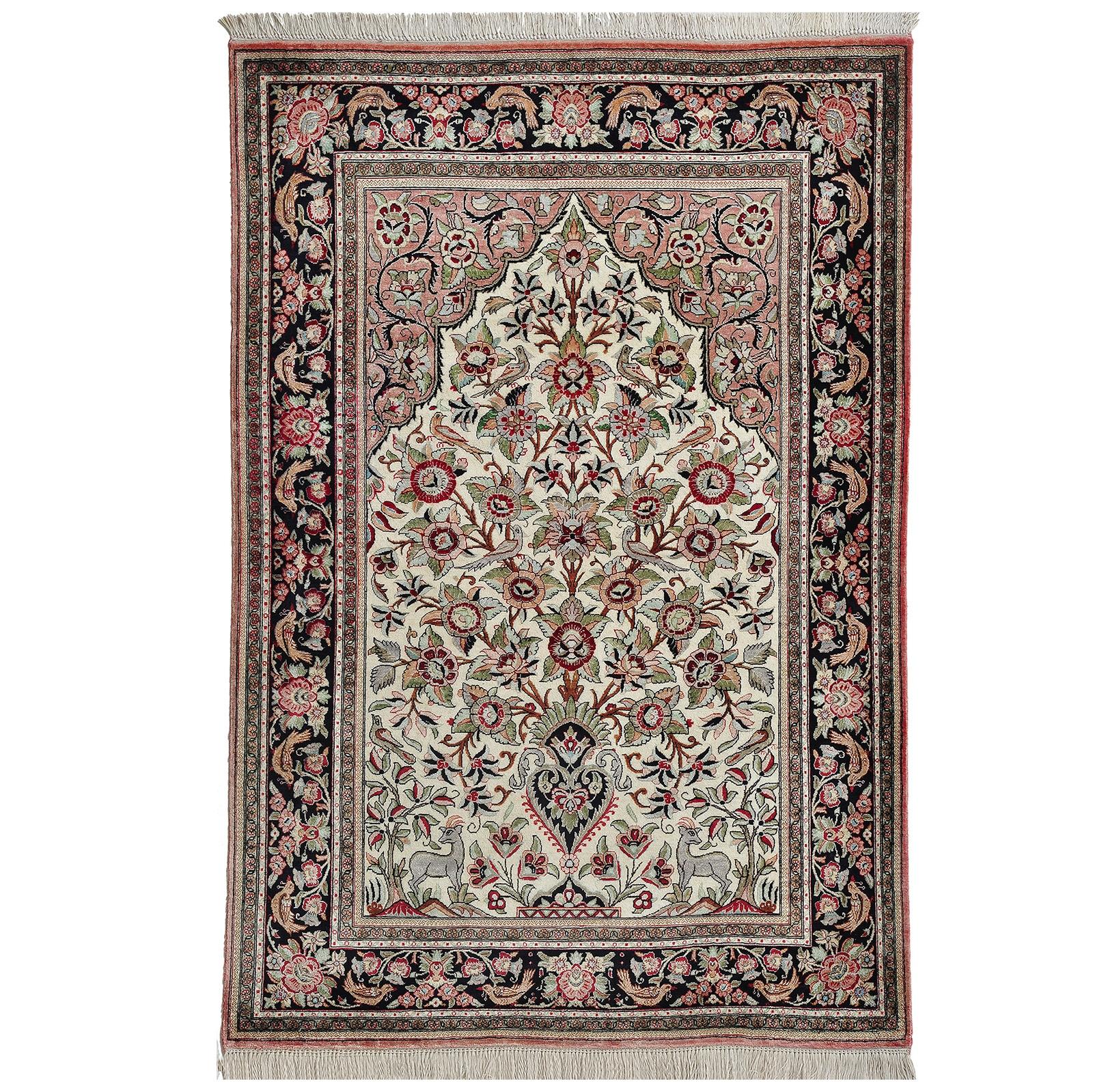 Ghom Silke matta storlek 155x106 cm
