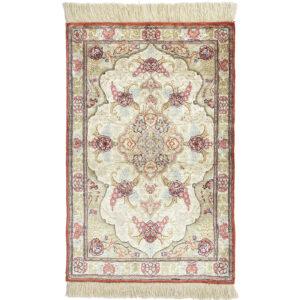 Ghom silke matta storlek 76x50 cm