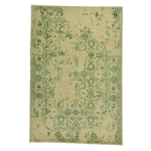 Damask (kaprifol grön) matta storlek 300x200 cm