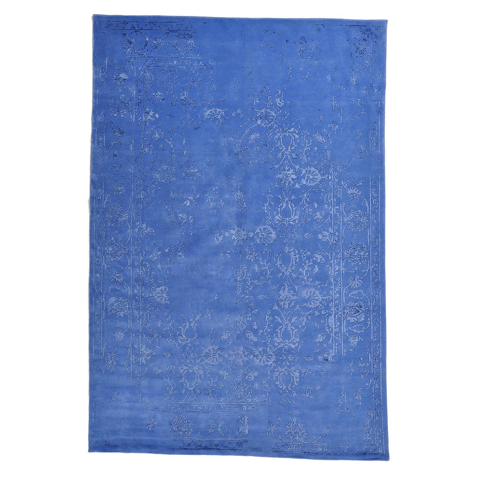 Damask (Stenros blå) 300x200 cm-0