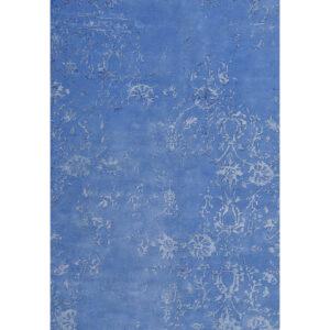 Damask (Stenros blå) 300x200 cm-43430