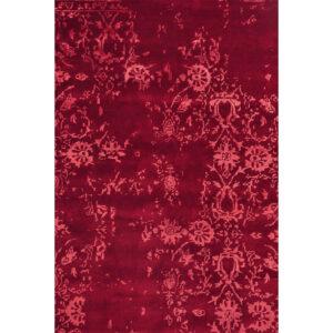 Damask (Kaprifol röd) 300x200 cm-43438