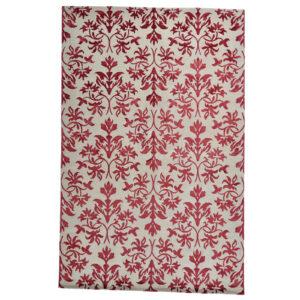 Damask (Lilja röd) matta storlek 300x200 cm