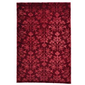 Damask (orkidé röd) 300x200 cm-0