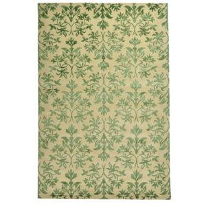 Damask (Lilja grön) 300x200 cm-0