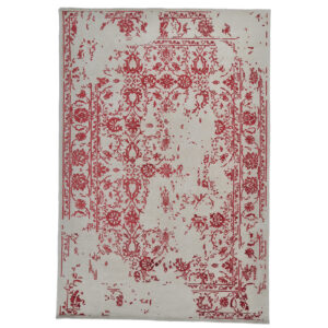 Damask ( Kaprifol röd) mattor storlek 300x200 cm