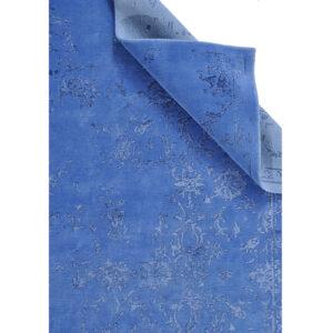 Damask (Stenros blå) 240x170 cm-49507