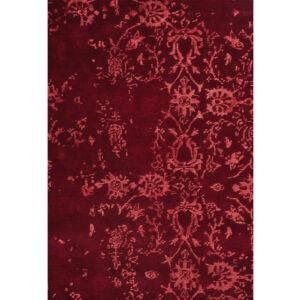 Damask (Kaprifol röd) 240x170 cm-43735