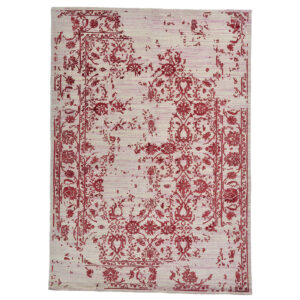 Damask (Kaprifol röd) mattor storlek 240x170 cm