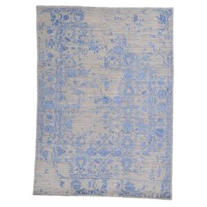 Damask (Kaprifol blå) matta storlek 240x170 cm