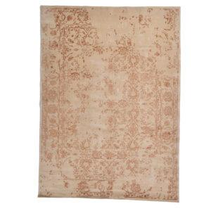Damask (kaprifol aprikos) matta storlek 240x170 cm