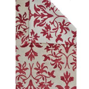 Damask (Lilja röd) 240x170 cm-43782