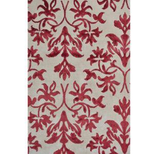 Damask (Lilja röd) 240x170 cm-43785