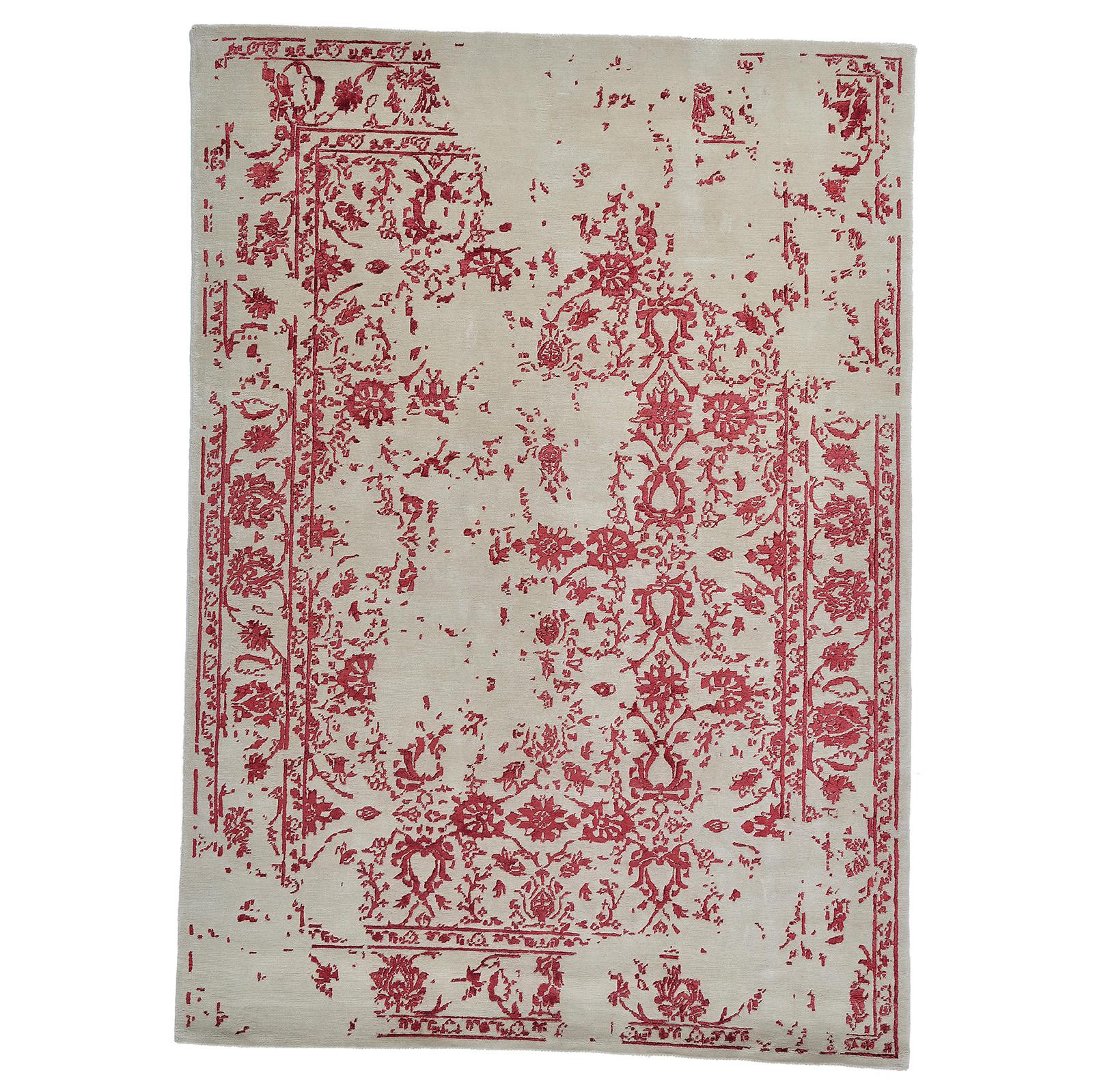 Damask ( Kaprifol röd) 240x170 cm-0
