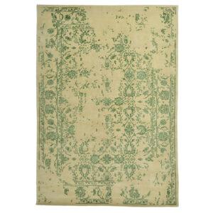 Damask (kaprifol grön) matta storlek 240x170 cm