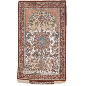 Esfahan (Seyrefian Semi antik) matta storlek 116x69 cm