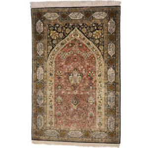 Ghom silke old matta storlek 210x140 cm