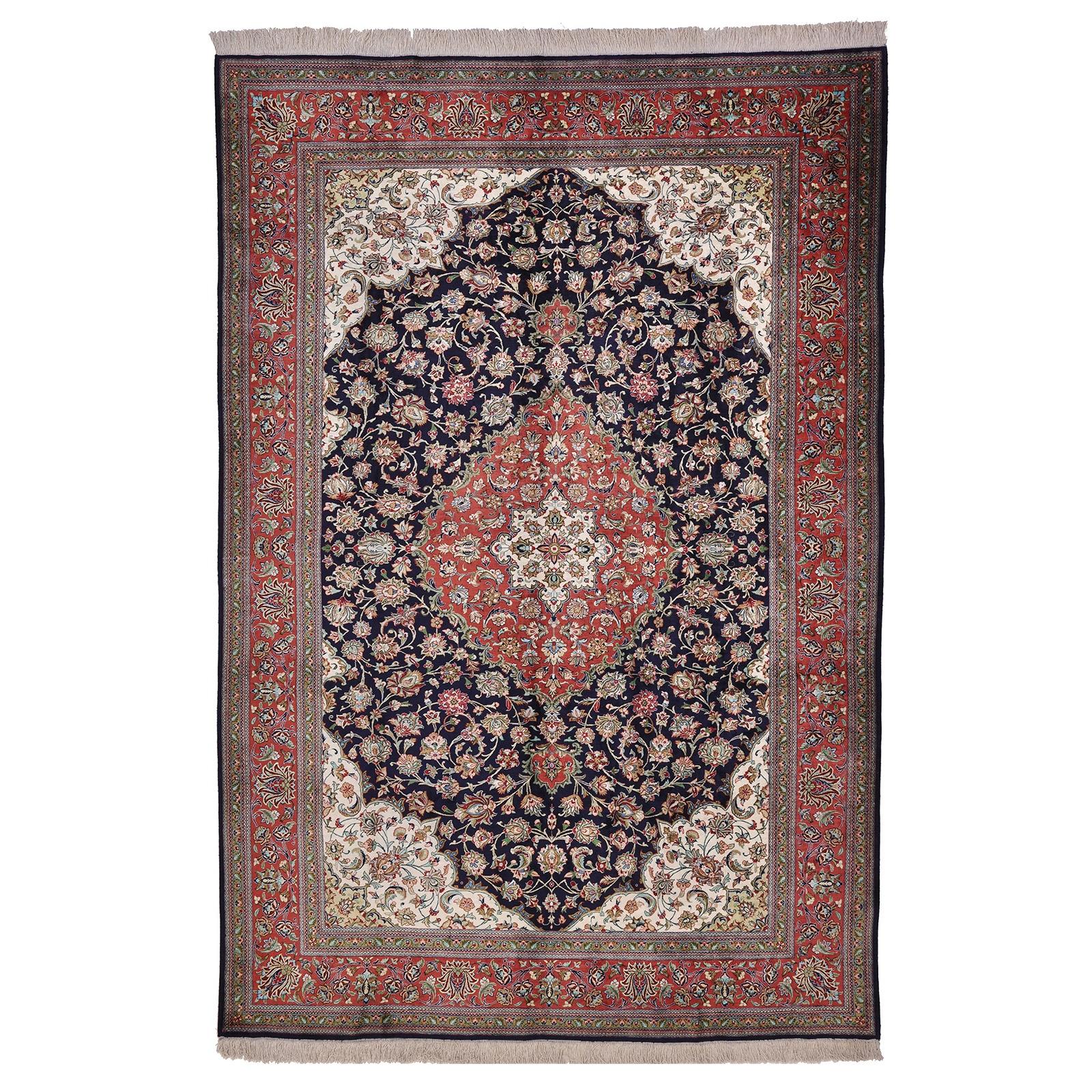 Ghom silke matta storlek 297x207 cm