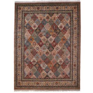 Täbriz (Emir khosh niet semi antik) 40 Raj matta storlek 360x280 cm