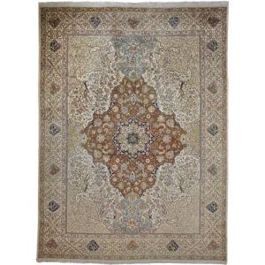 Täbriz 40 Raj (Semi Antik) matta storlek 400x295 cm