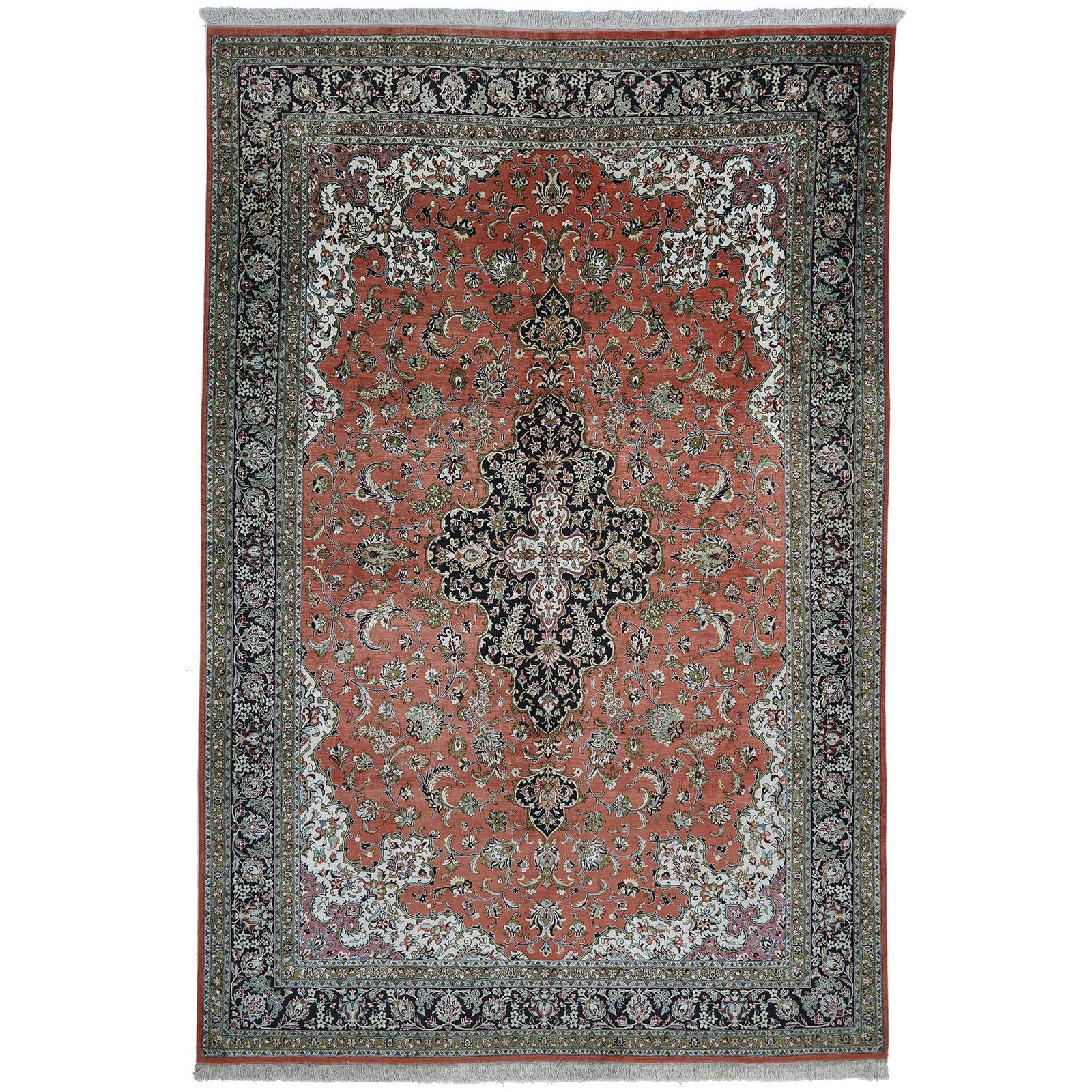 Ghom silke matta storlek 300x200 cm