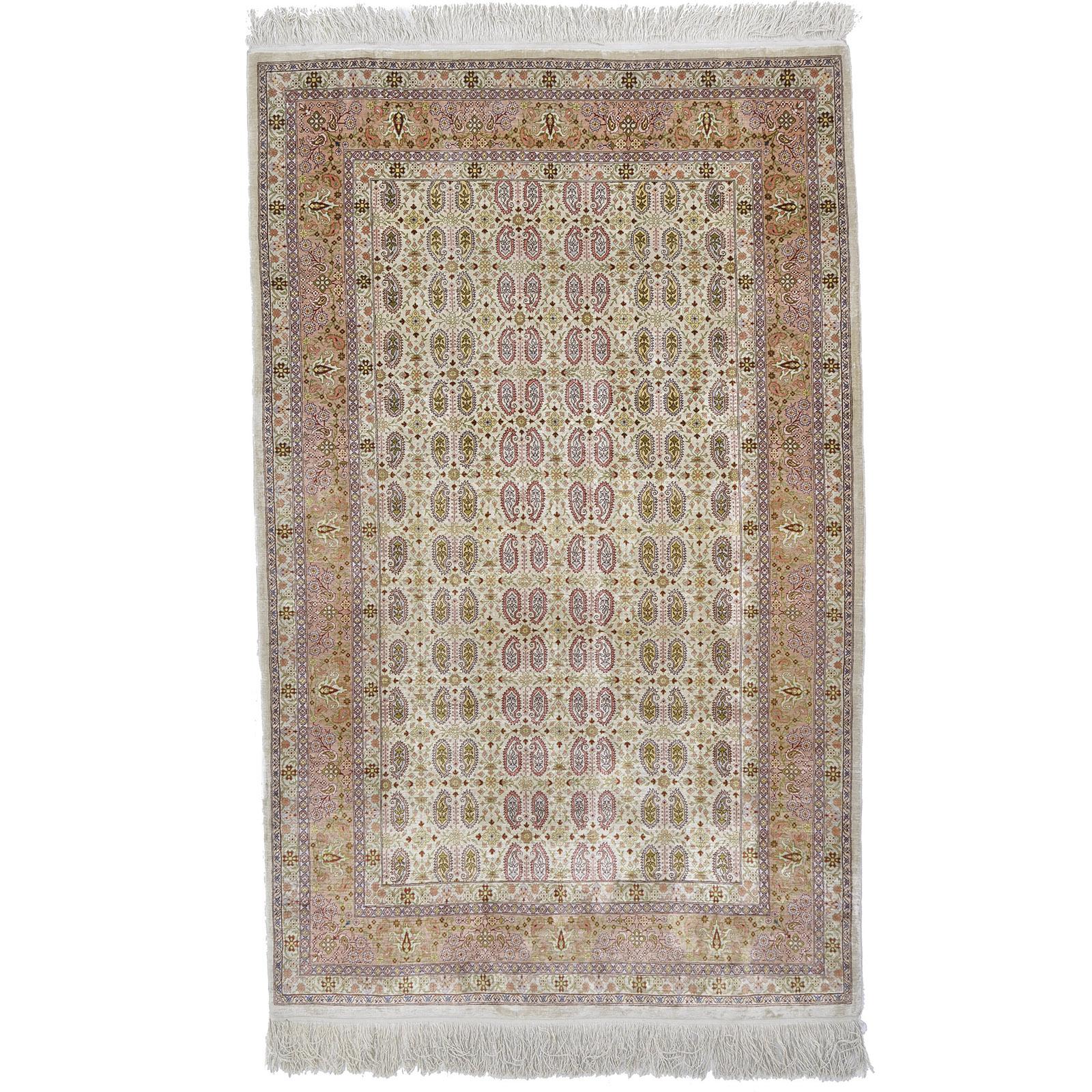 Hereke silke (Semi Antik) matta storlek 167x102 cm