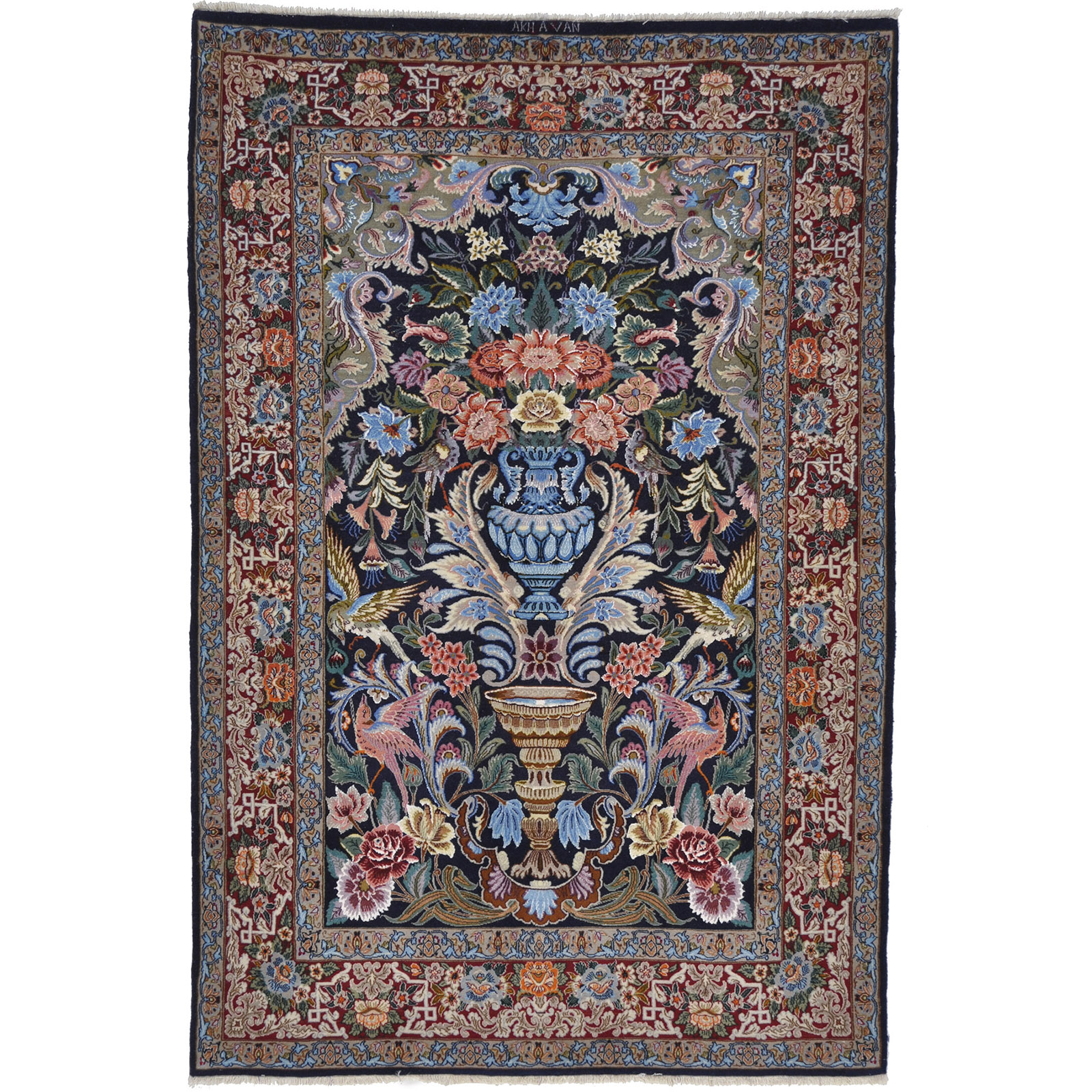Esfahan matta storlek 165x108 cm